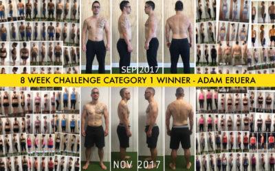 8 Week Challenge Winners